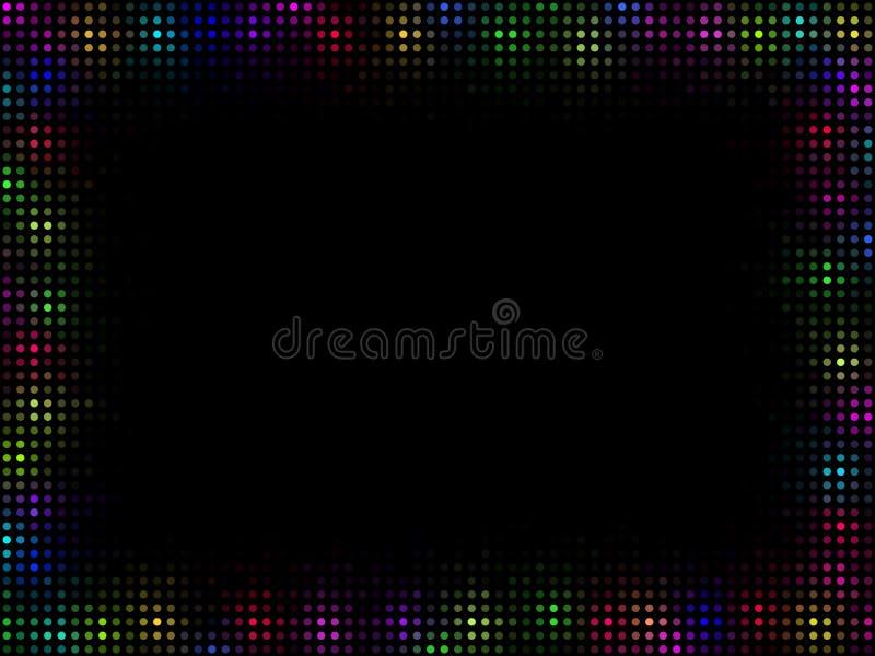Mehrfarbenmosaikfeld lizenzfreie abbildung