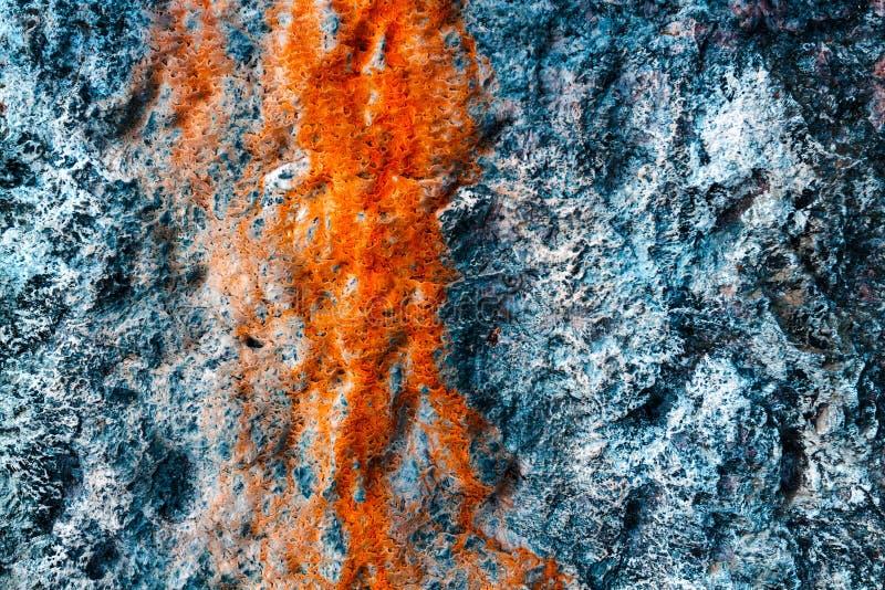 Mehrfarbenschmutzhintergrund mit abstrakten Farben von Rotem, helles Blaues, weiß und ockerhaltig, Granitsteinbeschaffenheit Vers stockbild
