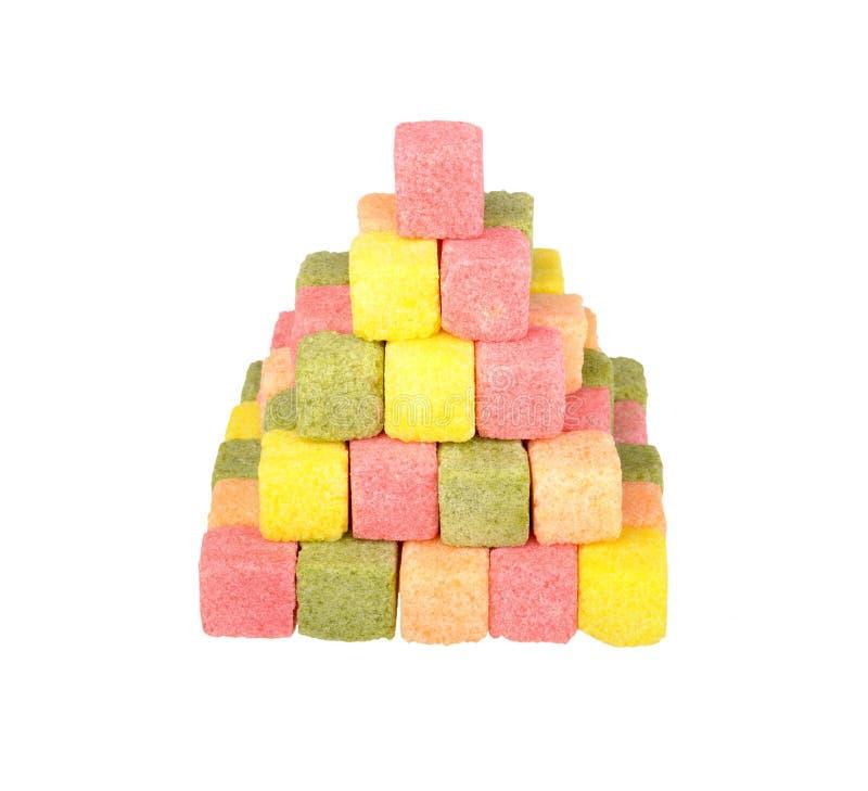 Mehrfarbenzucker lizenzfreie stockfotos