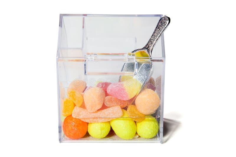 Mehrfarbige Bonbons stockbild