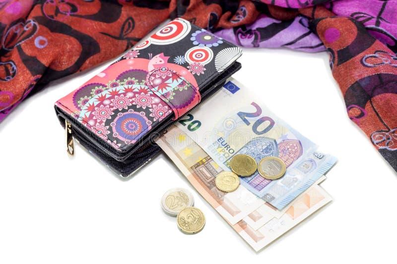 Mehrfarbige Handtasche lizenzfreies stockfoto