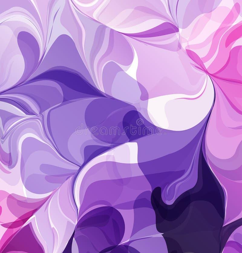 Mehrfarbige Hintergrund-Aquarellmalerei vektor abbildung