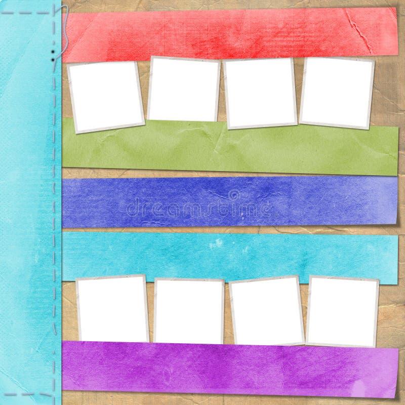 Download Mehrfarbige Karte Für Anzeige Stockfoto - Bild von album, dekorativ: 27732444