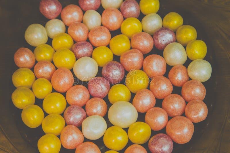 Mehrfarbige Perlensüßigkeit lizenzfreie stockfotografie