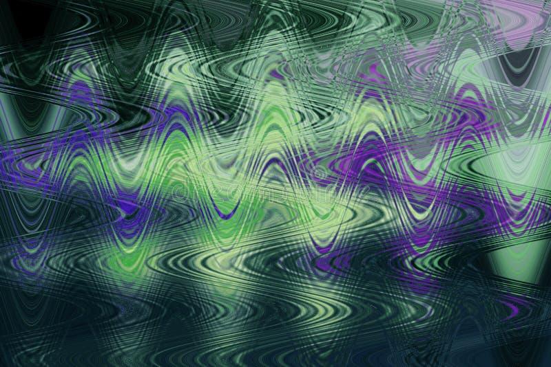 Mehrfarbiger abstrakter Hintergrund Unuque - Beschaffenheit lizenzfreie abbildung