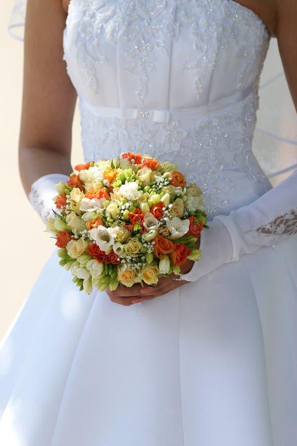 Mehrfarbiger Blumenstrauß 2. lizenzfreies stockfoto