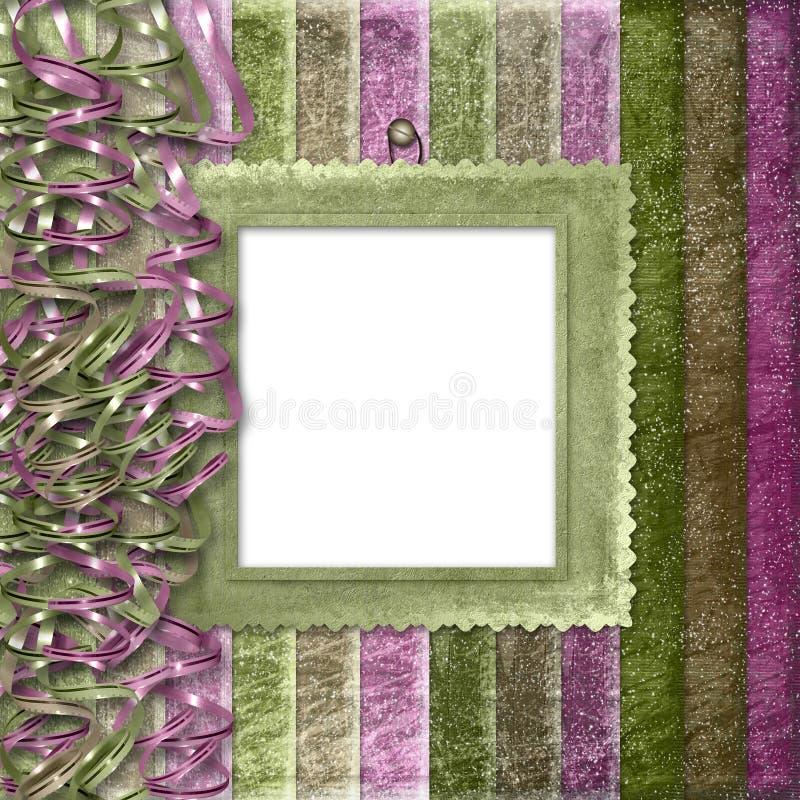 Mehrfarbiger gestreifter Hintergrund vektor abbildung