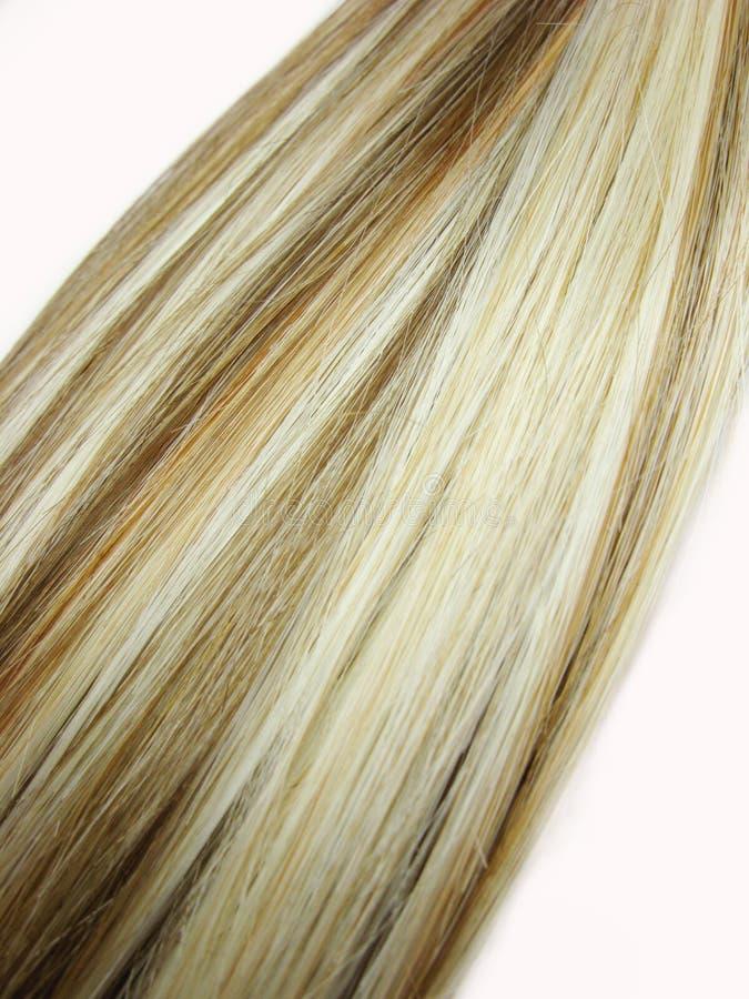 Mehrfarbiger Haarbeschaffenheitshintergrund lizenzfreie stockbilder