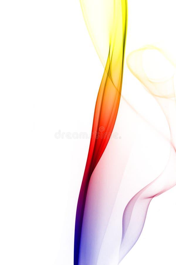 Mehrfarbiger Rauch stockfotos