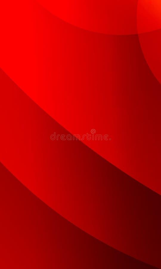 Mehrfarbiger schattierter gewellter Hintergrund des abstrakten Vektors mit Blasen, Tapete, Vektorillustration lizenzfreie abbildung