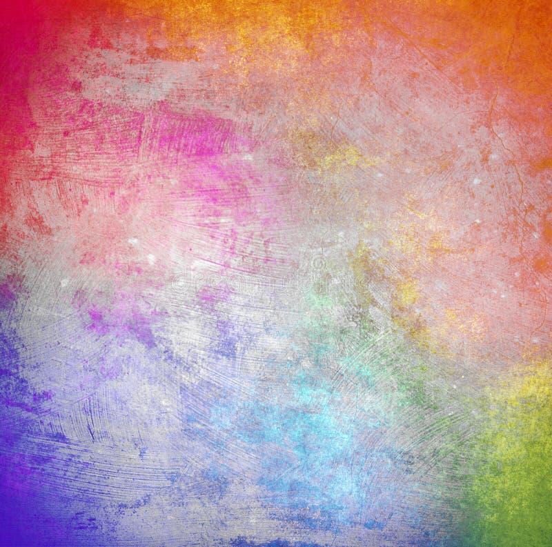 Mehrfarbiger Schmutzhintergrund stockbild