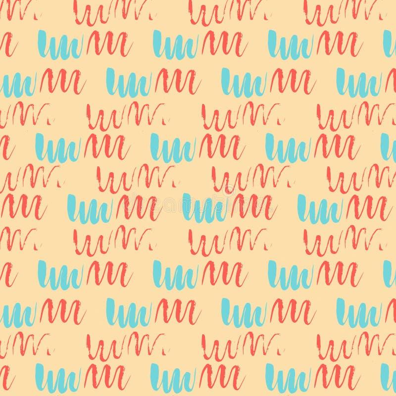 Mehrfarbiges Pastellmuster der geometrischen Zusammenfassung lizenzfreies stockbild