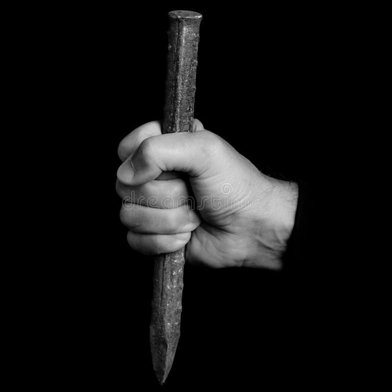 Meißel - Werkzeuge in einer Mann ` s Hand stockfotos