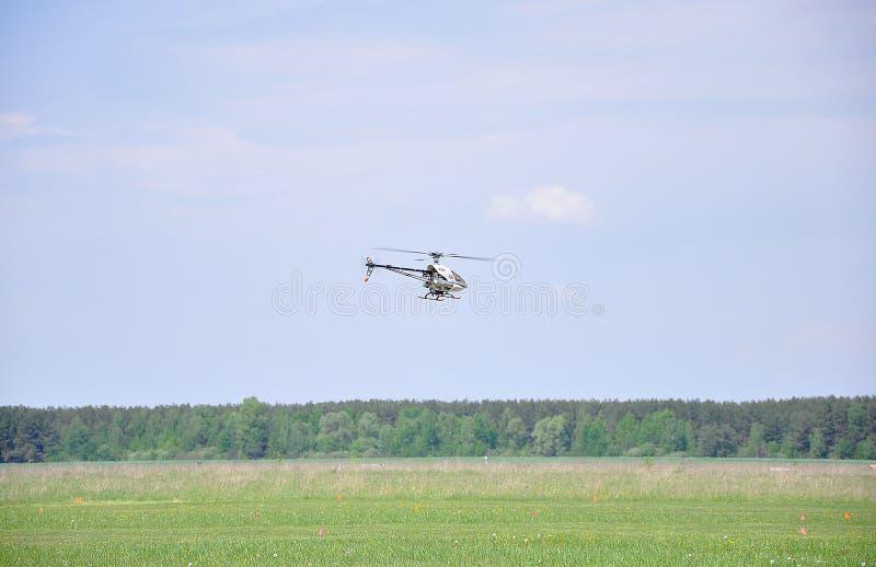 11 mei, 2011 - het festival van het aeromodelling bij de luchthaven in de stad van Borodyanka, het gebied van Kiev royalty-vrije stock fotografie