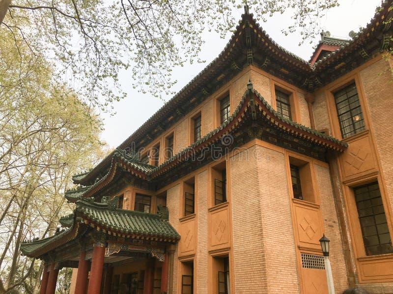 Mei-Ling slott i Nanjing cityï¼ ŒChina arkivfoto