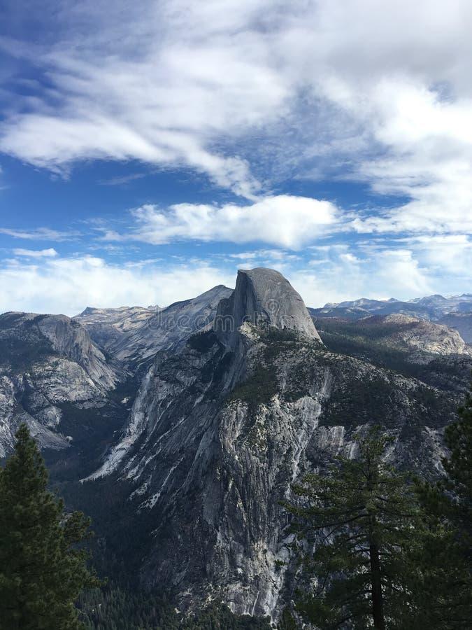 Meia abóbada em Yosemite, California imagem de stock royalty free