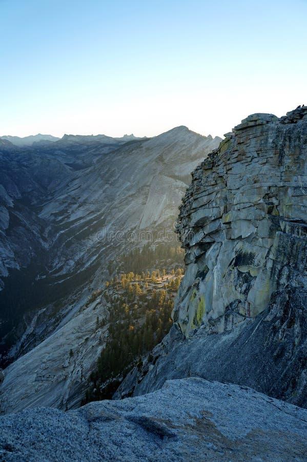 Meia abóbada, parque nacional de Yosemite foto de stock