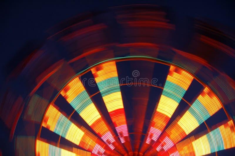 Meia roda de Ferris imagens de stock