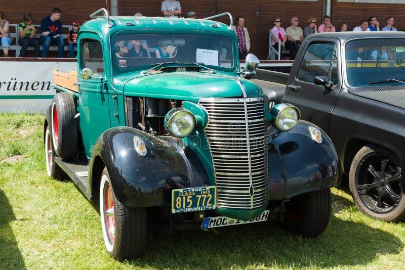 Meia tonelada Recolhimento de Chevrolet, 1937 fotografia de stock royalty free