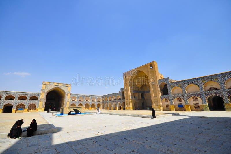 Meidan Emam, Isphahan, Iran stock afbeelding