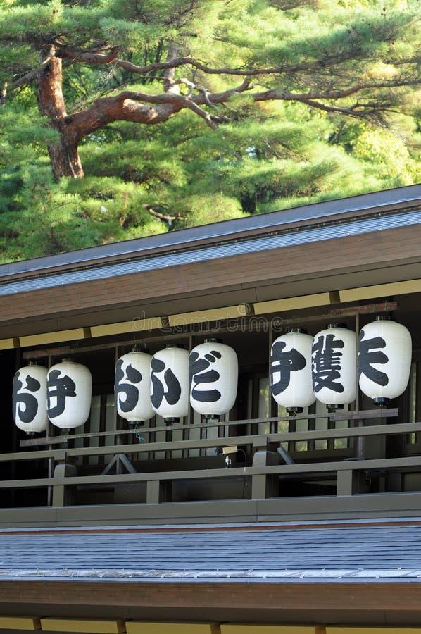meiji寺庙东京 库存照片