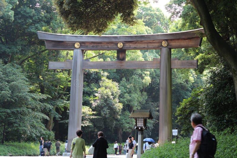 Meiji Jingu arkivbild