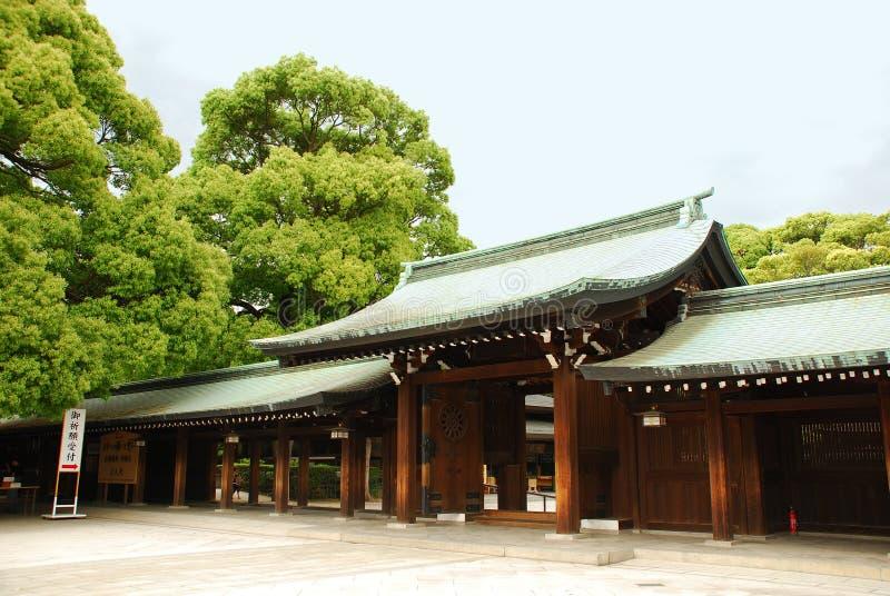 Meiji Jingu Royalty Free Stock Photo
