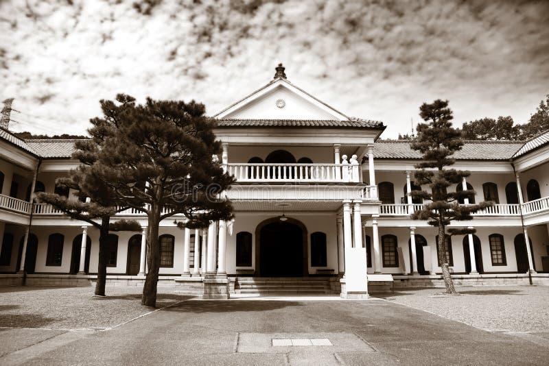 Meiji mura museum near Nagoya, Japan. Historic building in Meiji mura museum near Nagoya, Japan stock photography