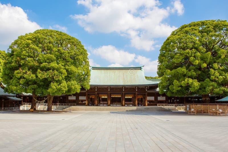 Meiji Shrine imperial em Shibuya, Tóquio, Japão foto de stock
