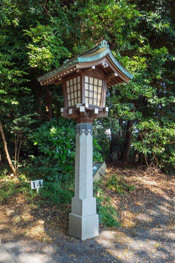 Meiji Shrine, Tokyo, Giappone - 27 ottobre 2017: situato in Shib fotografie stock