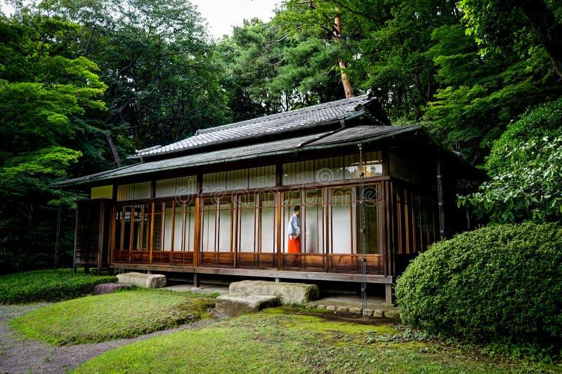 Meiji Shrine Yoyogi Park Tokyo Japão Ásia imagens de stock