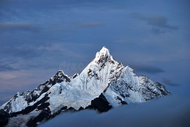 meili góry śnieg obraz stock