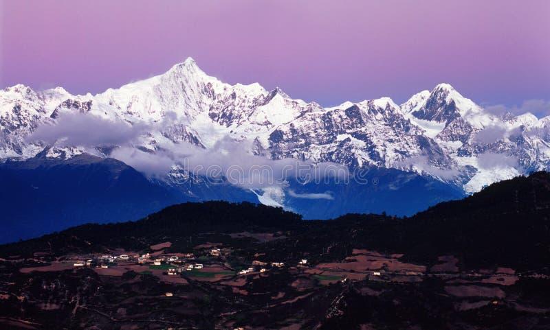 meili góry śnieg zdjęcia royalty free