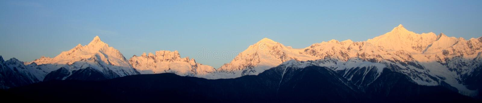 Download Meili Snow Mountain (Prince Snow Mountain) Stock Photo - Image: 7608814