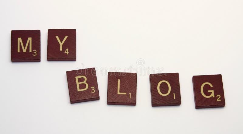 MEIN Blog lizenzfreie stockfotografie