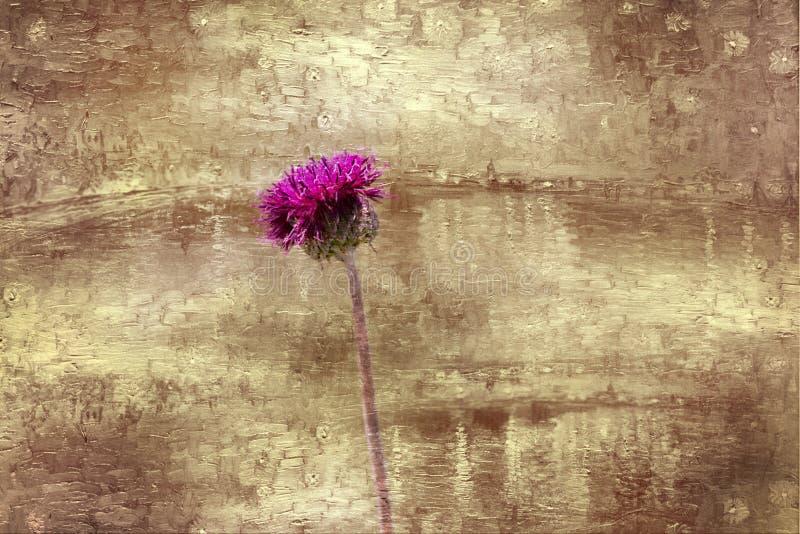 Mein Blumenhintergrund hargita Otto stockbilder