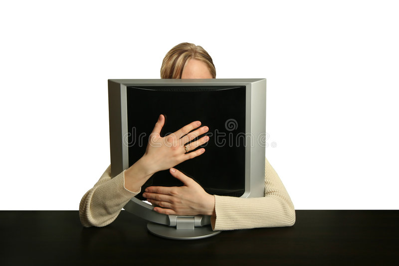 Mein Computer stockfoto