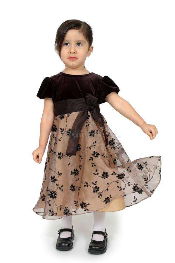 Mein hübsches Kleid lizenzfreie stockfotografie