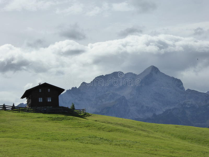 Mein Haus im Bayern stockfoto