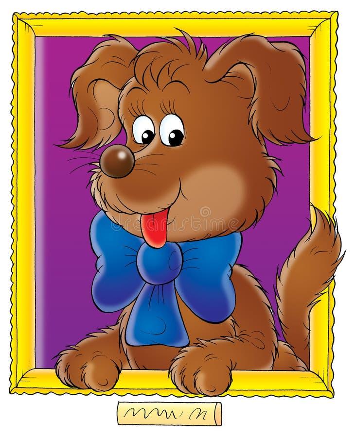 Mein Hund 008 lizenzfreie abbildung