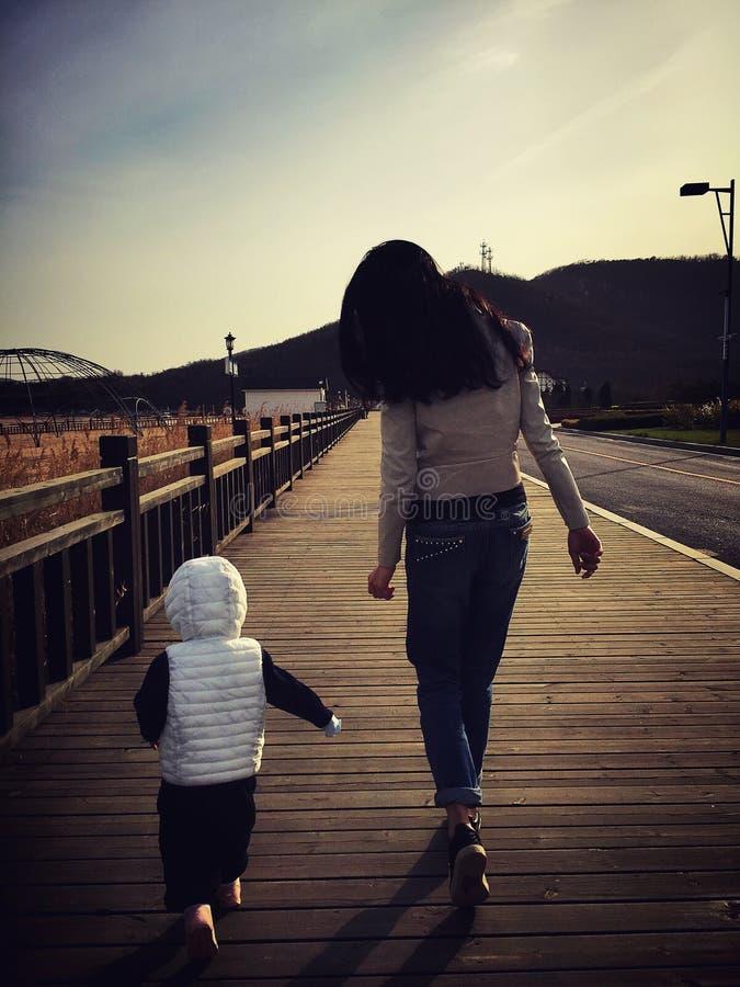mein Mädchen und mein Freund lizenzfreies stockfoto