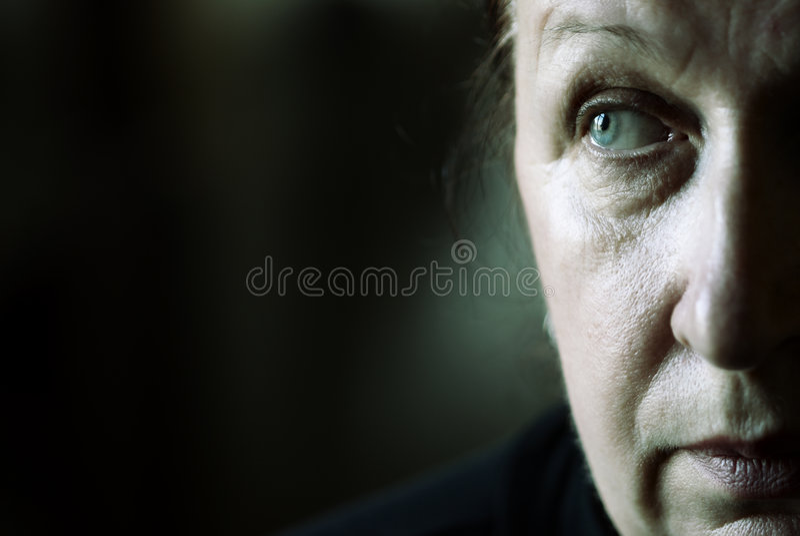 Mein Mutterportrait lizenzfreie stockfotografie
