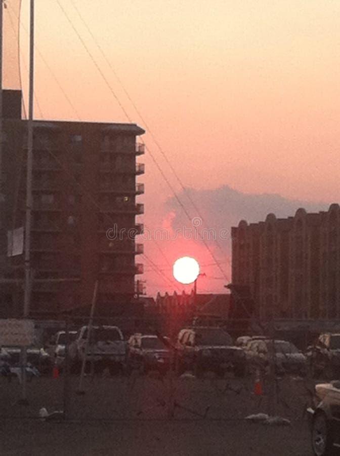 Mein roter Sun lizenzfreies stockfoto