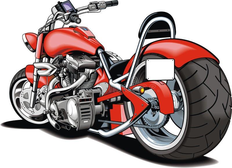 Mein ursprüngliches motrobike Design stock abbildung