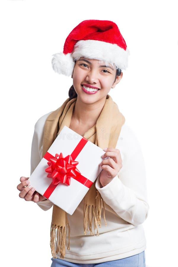 Mein Weihnachtsgeschenk lizenzfreies stockbild
