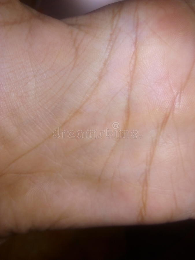 Meine Hand stockfoto