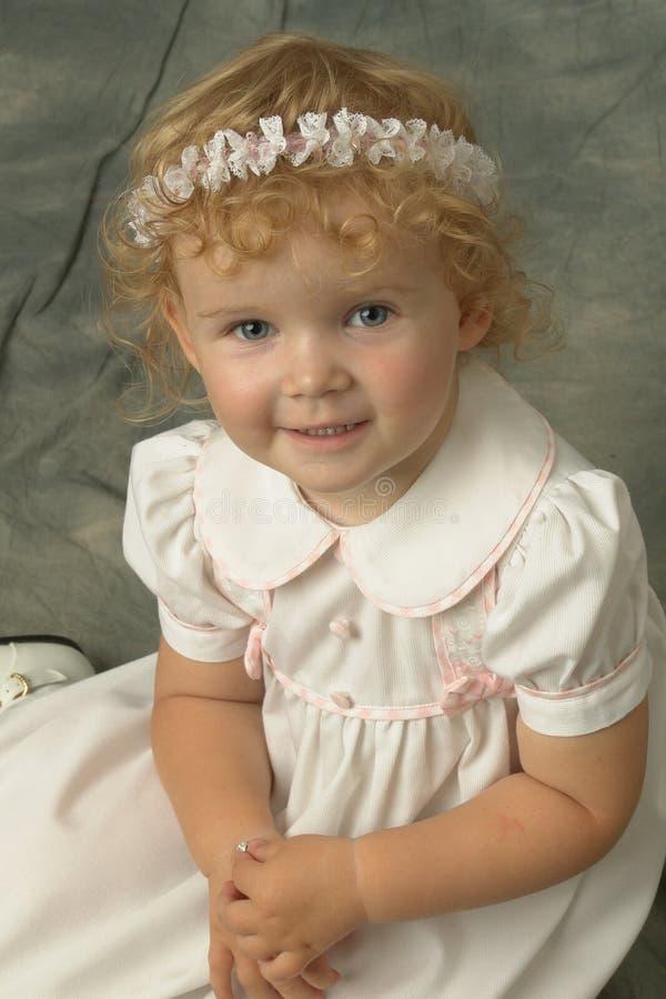 Meine kleine Tochter lizenzfreie stockbilder