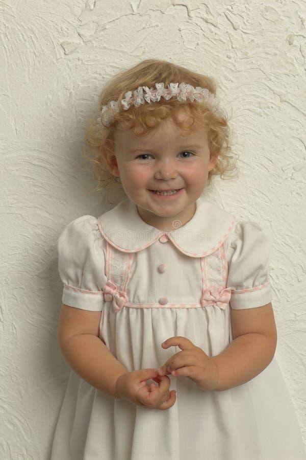 Meine kleine Tochter stockbild