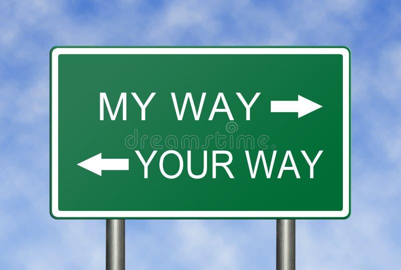 Meine Weise Ihre Weise