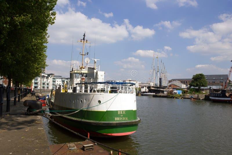 Porto de Bristol, Inglaterra imagem de stock